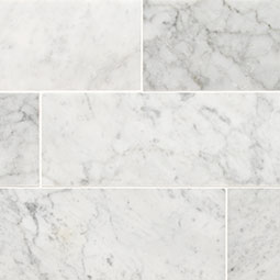 Carrara White 4x12 Honed Product Page