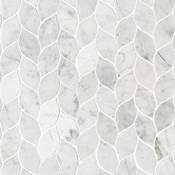 Carrara White Blanco Pattern Honed