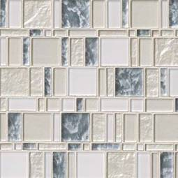 Chantilly Stax 8mm Glass Backsplash Tile