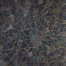 Charcoal Flat Pebbles Meshed 16x16
