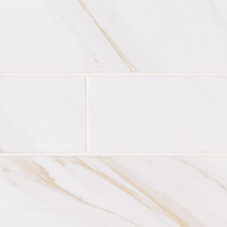 Classique White Calacatta Glossy 4X16 - White Tile Product Page
