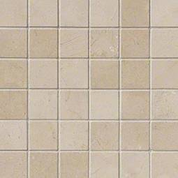 Crema Marfil 2x2 Polished in 12x12 Mesh