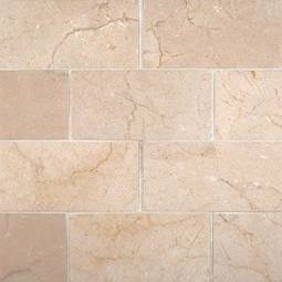 Crema Marfil Subway Tile Honed 3x6
