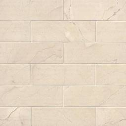 Crema Marfil Subway Tile Polished 4x12
