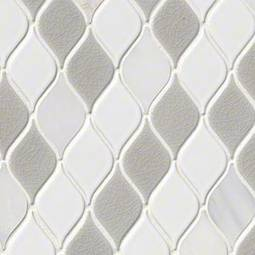 Cresta Blanco Backsplash Tile