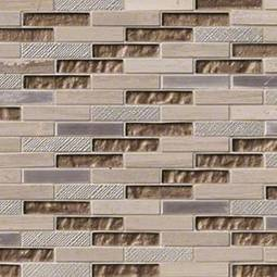 Diamante Brick 0.625x3x8mm Metal Tile