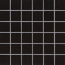 Domino Black 2x2 Polished