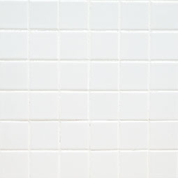 Domino White 2x2 Polished