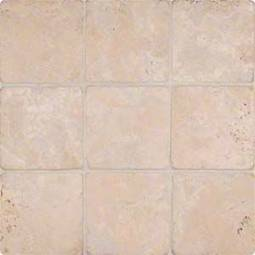 Durango Cream 4x4 Tumbled Tile