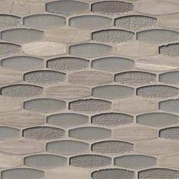 Ellipse Gris Backsplash Tile