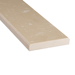 Engineered Beige 2x36x0.625 Polished Double Beveled - Marble Threshold