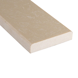 Engineered Beige 4x24x0.625 Polished Double Beveled - Marble Threshold
