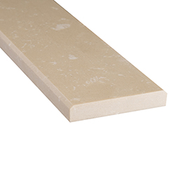 Engineered Beige 4x36x0.75 Polished Double Beveled - Marble Threshold