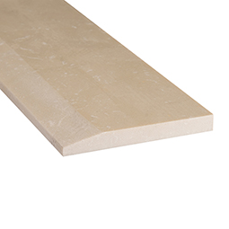 Engineered Beige 5x30x0.625 Polished Single Hollywood - Marble Threshold