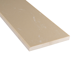 Engineered Beige 6x37x0.62 Polished Single Beveled - Marble Threshold