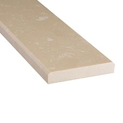Engineered Beige 6x72x0.75 Polished Double Beveled Thresholds - Marble Threshold