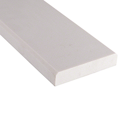 Engineered White 4x24x0.625 Polished Double Beveled Product Page