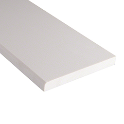 Engineered White Marble 6x73x0.62 Polished Single Beveled - Marble Threshold Product Page
