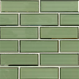 Evergreen Beveled Subway 2x6x8mm
