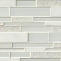 Fantasia Blanco Interlocking Pattern 12x18x8mm