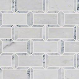 Framework 2x4 Polished Subway Tile Backsplash