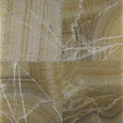 Giallo Crystal Onyx 12x12 Polished Tile