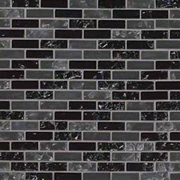 Glissen 5/8x2x6mm Glass Backsplash Tile