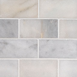 Greecian White Marble Subway Tile 3x6  Product Page