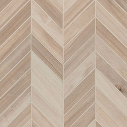 Havenwood Beige Chevron Mosaic 12X15 wood look wall tile