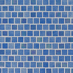 Hawaiian Beach 1x1x4mm Staggered Glass Mosaic Tile