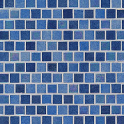 Hawaiian Sky 1x1x4mm Staggered  Glass Mosaic Tile