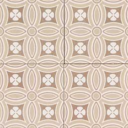 KENZZI DEKORA 5.2X5.2 encaustic tile pattern