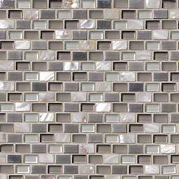 Keshi Blend Mini Brick 8mm Metal Tile