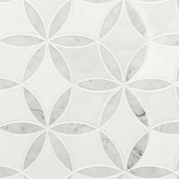 La Fleur geometric tile pattern