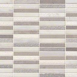 Linea Mixed Finish Pattern Backsplash Tile