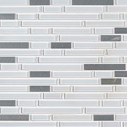 Lucid Sky Interlocking 4mm Decorative Mosaic Tile