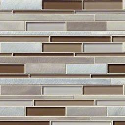 Madison Avenue Interlocking Pattern 8mm Metal Tile