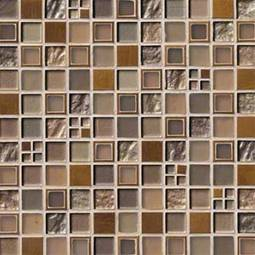 Manhattan Blend Pattern 8mm Metal Tile