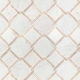 Marbella Lynx Polished geometric tile pattern Product Page