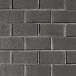 Metallic Gray Subway 2x4x8mm Glass Backsplash Tile