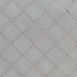 Morning Fog Arabesque Backsplash Tile Product Page