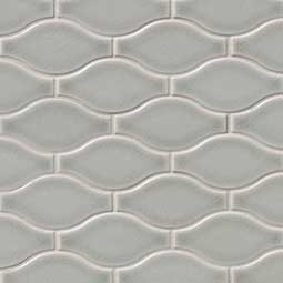 Morning Fog Ogee Pattern Backsplash Tile Product Page
