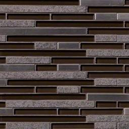 Niagra Interlocking Pattern 8mm Metal Tile