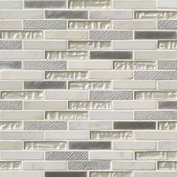 Ocean Crest Brick 5/8x3x8mm Metal Tile
