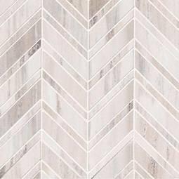Palisandro Chevron Polished Backsplash Tile