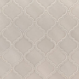 Portico Pearl Arabesque Backsplash Tile