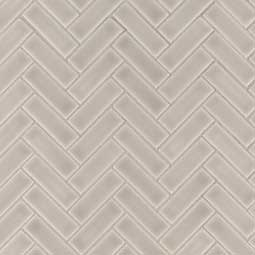 Portico Pearl Ceramic Tile Subway Tile Kitchen Backsplash