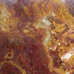 Red Onyx 12x12 Polished Tile