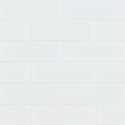 Retro Brick Bianco 6mm Matte