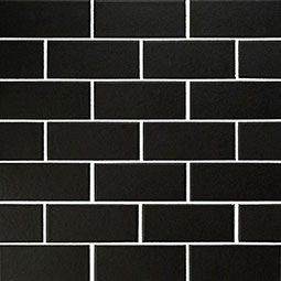 Retro Nero 2x4x6mm Matte